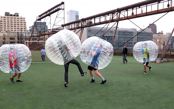 people-playing-bubble-soccer
