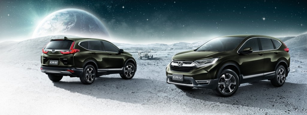 All-new Honda CR-V with Background (2)