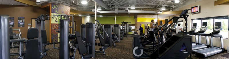 Anytime Fitness - Wide Shot - Equipment