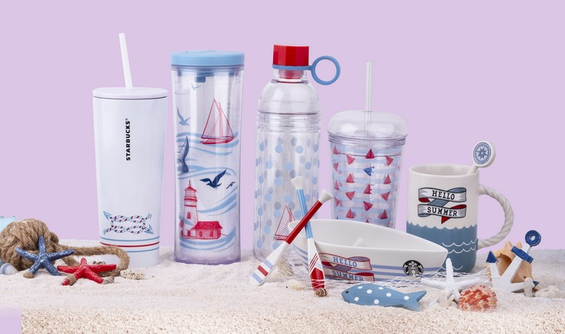 Starbucks summer merchandise