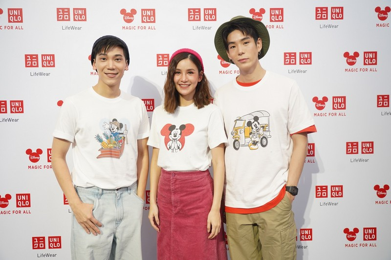 UNIQLO and Disney Collaboration and Micky Go Thailand Launch Event 4