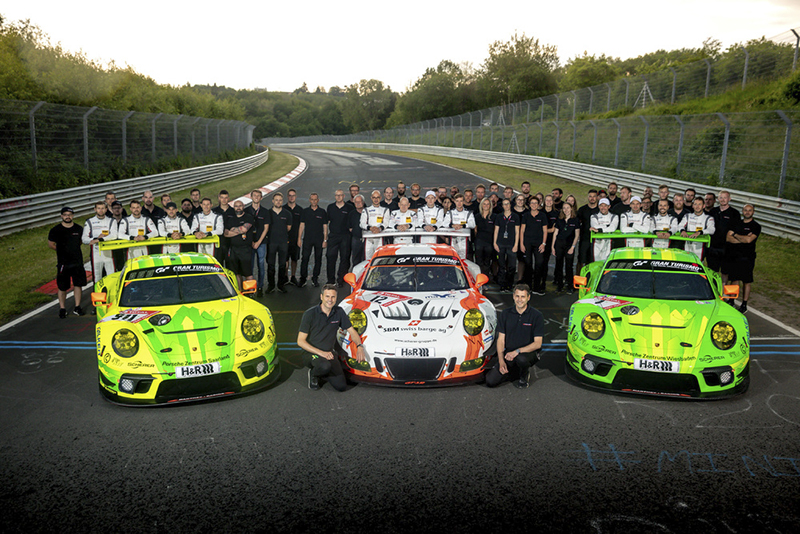 M21_0587 25 Years Manthey-Racing Porsche 911 GT3 R, 24h Nrburgring 2019