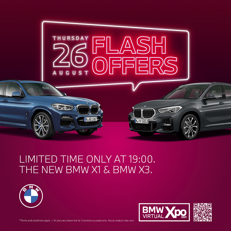 Flash offer August 26